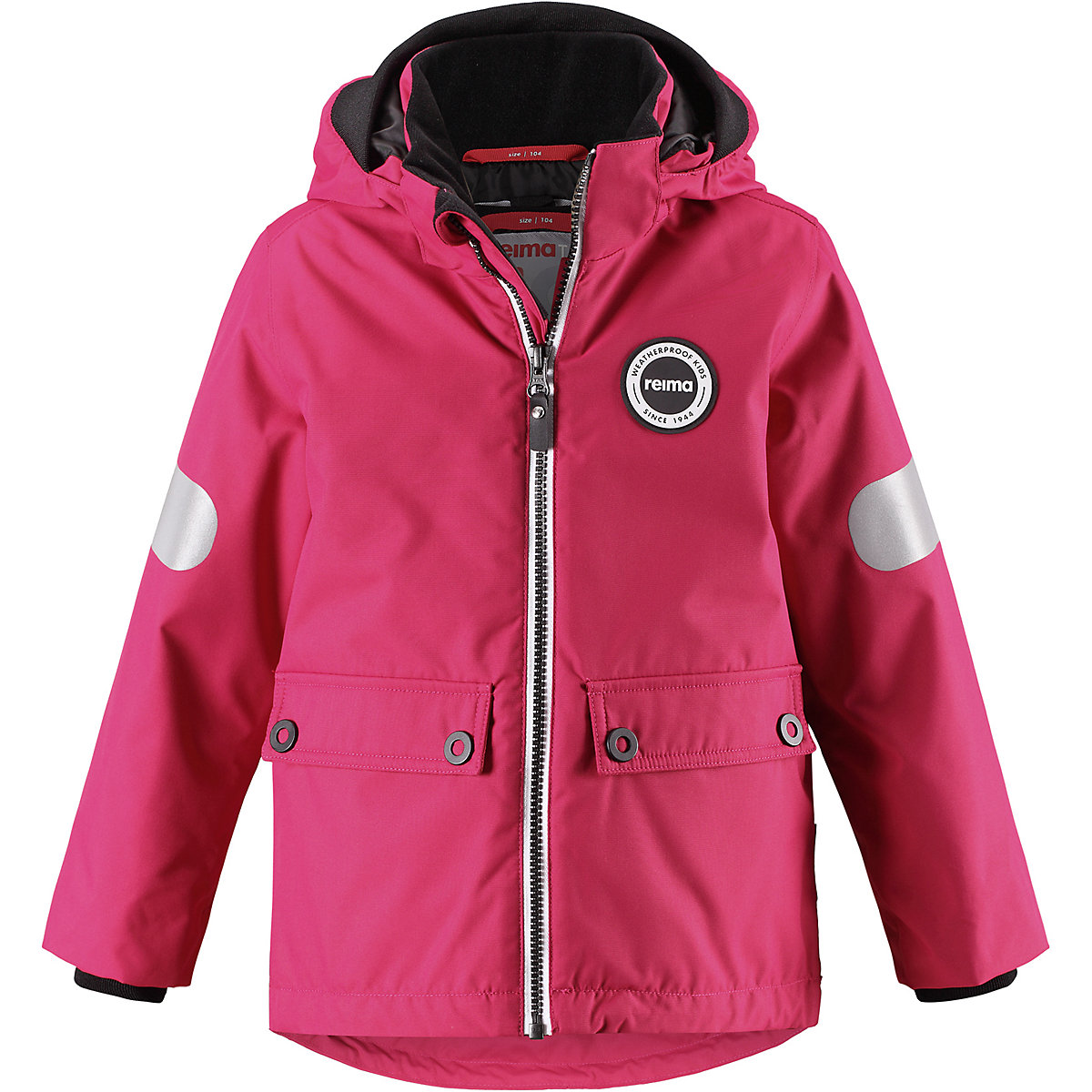 REIMA Jackets 8688889 For girls Polyester  winter fur baby clothing girl Jacket duhan motocross off road racing jacket motorcycle jackets body armor protective moto jacket motorbike windproof jaqueta clothing