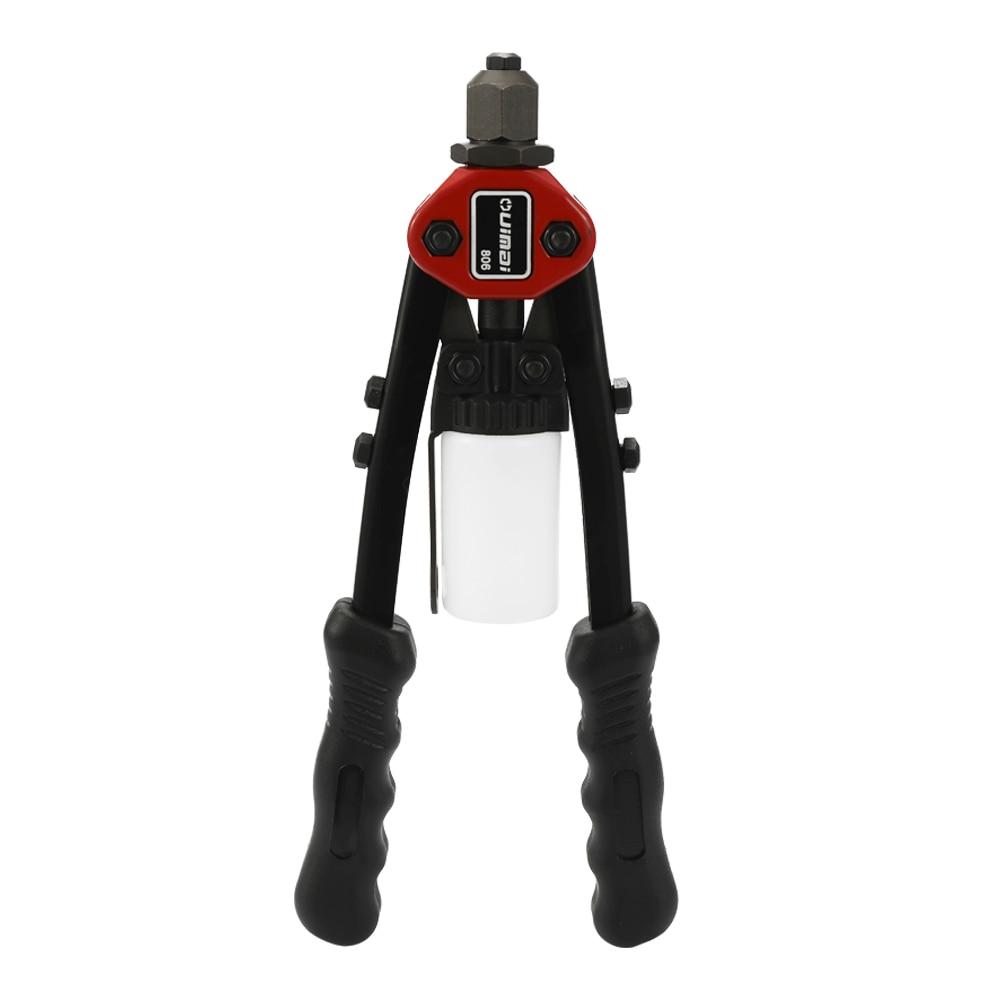 כלים יד BT-806-עבודת חיסכון ידני יד Rivet אקדח נוח קלים ללבוש Resisitant מסמרר כלים עם אגוזי Dies מרתקים Core (2)