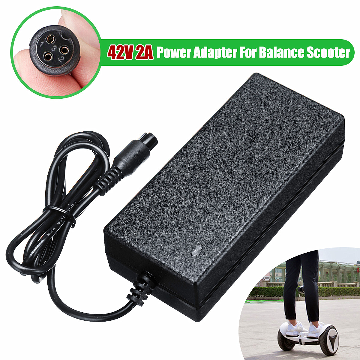 Painstaking 42v 2a Universal Battery Charger 84w Electric Power Scooter Adapter Charger Uk Plug For Hoverboard Smart Balance Wheel Accessories & Parts