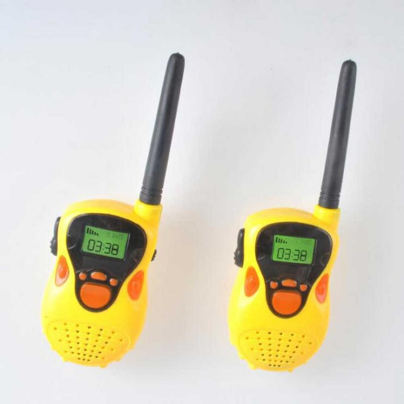 Cartoon Walkie Talkies For Kids Box Voice Activated Walkie Talkies For Children Long Range (100M)Walkie Talkie Set For Children