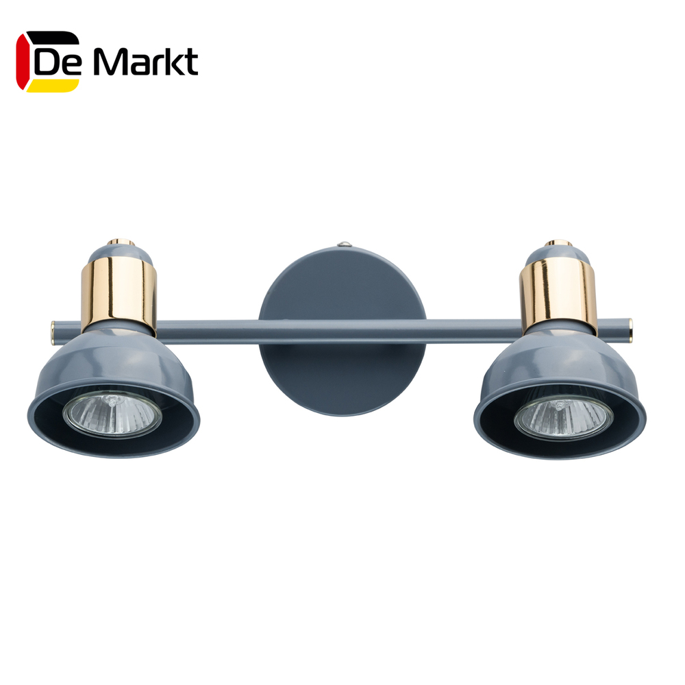 Wall Lamps De Markt 552020202 lamp Mounted On the Indoor Lighting Lights Chandelier spots led wall sconce modern wall lamp decorative wall lights decorative sconces led bedside lamp wall makeup mirror lights bathroom