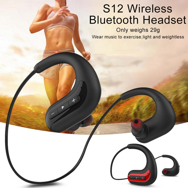 Image 5 - Portable Earphones Wireless BluetoothWaterproof Head Mounted Sports Swimming Running Earbuds Stereo 4D Hd Sound Device With Mic-in Bluetooth Earphones & Headphones from Consumer Electronics