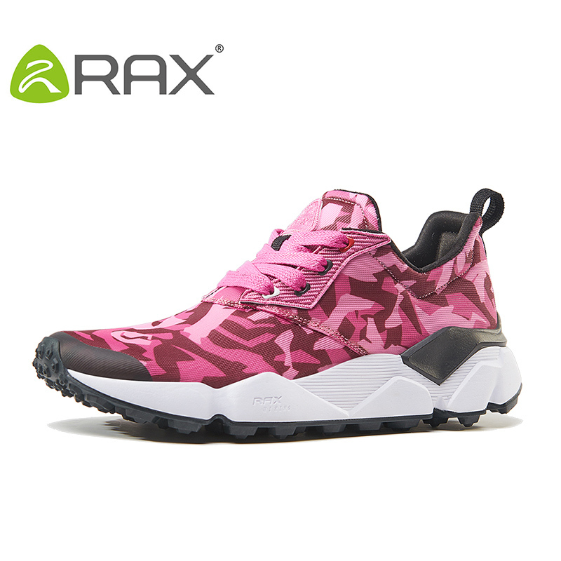 RAX Woman Running Shoes 2019 New Style Breathable Outdoor Sporsts Sneakers For Female Tourism Shoes Girl Lightweight Gym Running