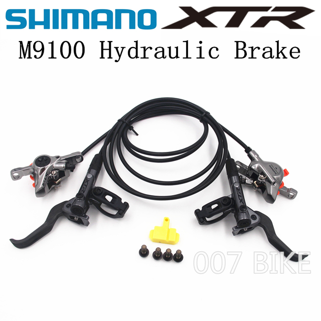 SHIMANO DEORE XTR M9100 hamulec górski rower XTR Hidraulic hamulec tarczowy MTB ICE TECH lewy i prawy 900/1600mm hamulec XTR