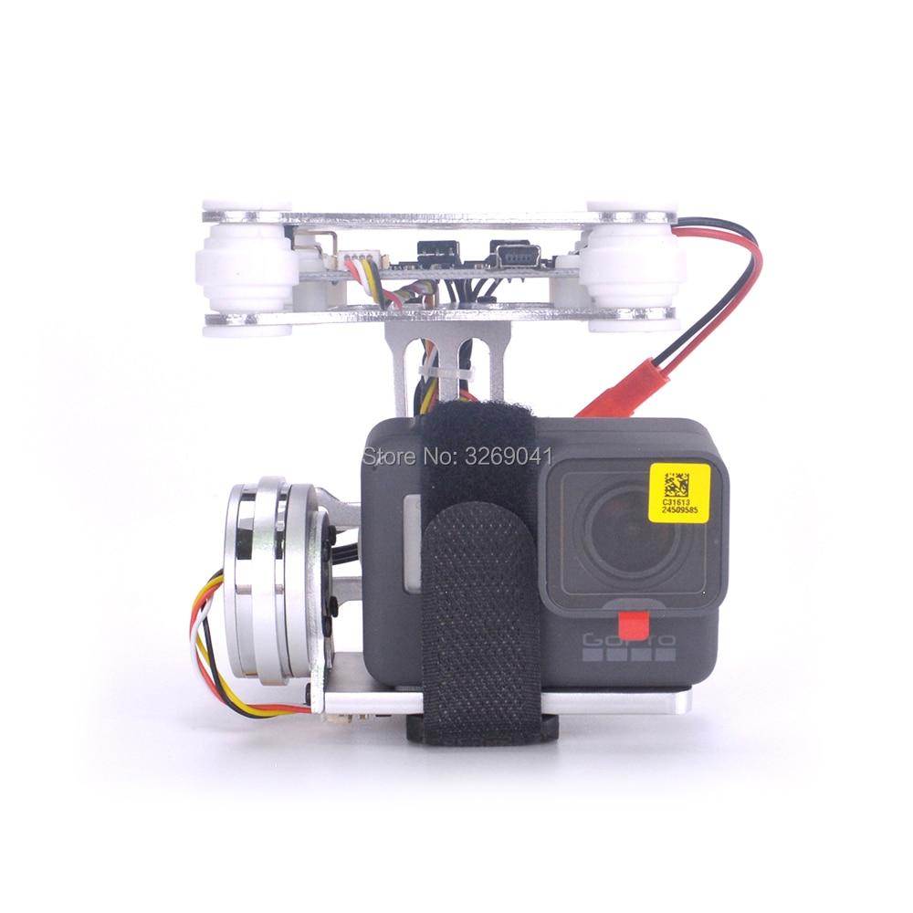 2 Axis Brushless Gimbal Lightweight Aerial Photography Gimbal plug and play For DJI Phantom GoPro Hero 3 4 5 6 DIY Drone