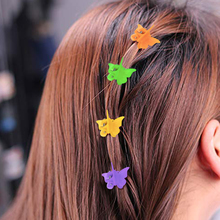 Hair Accessories Barrette Baby Clip Plastic Children Girl Clips Butterfly Mini Clamps For Women 120/200Pcs Multicolor
