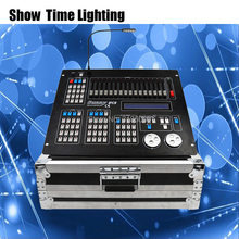 Hot sales New Sunny 512 DMX Controller flycase package Stage light DMX Master console flight box for led par beam moving head стоимость