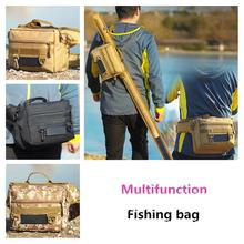 Mounchain Multi-functional Fishing Bag Fanny Pack Fishing Gear