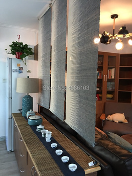 Window Curtain Styles | Japanese Style Tearoom Ramie Cloth Curtain Blinds Partition Curtain Zen Vestibule Screen Door Curtain For Living Room/Bedroom