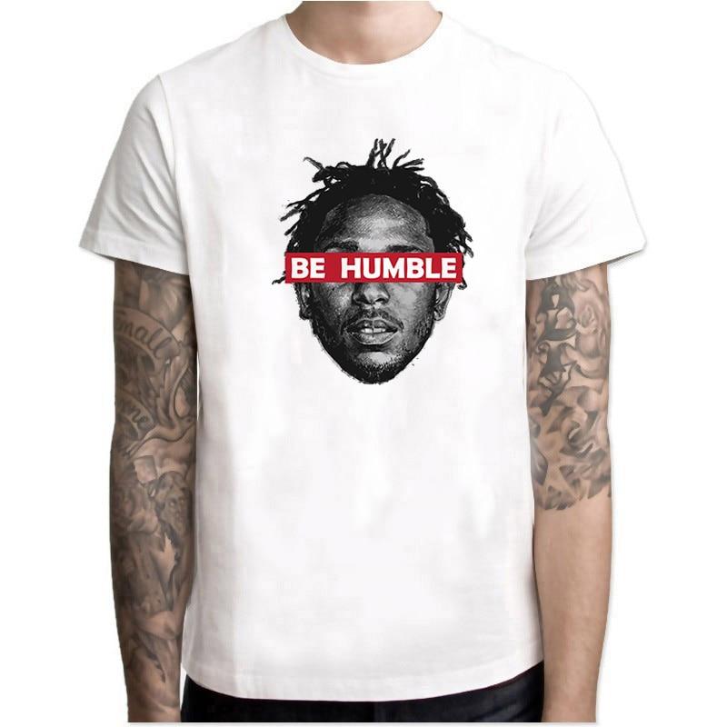 2019 Men Print Kendrick Lamar T-shirt Short Sleeve O-Neck Summer American Rapper Music Theme Casual T Shirt Swag Top Tees
