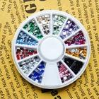 12 Colors 3D Metal S...