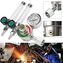 Двойной обратная очистка 2,5 МПа Mig расходомер газовый аргон AR/CO2 регулятор сварочный сварной сварки пластиковый Металл калиброванный гелий безопасность долговечность