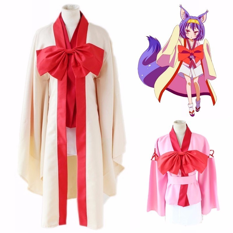 Realistic Hatsuse Izuna Cosply Costume No Game No Life Cosply Costume Halloween Uniform Halloween Cosplay Costumes For Party 18 Home