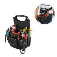 Multifunctional Handbags Canvas Electrician Bag Waist Repair Kit Hardware Kit Tool Carrier For Electrician Garden Tool