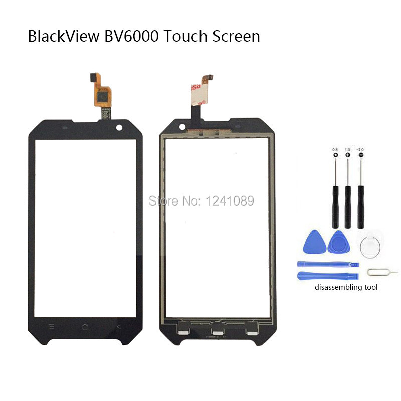 4.7 inch For <font><b>Blackview</b></font> <font><b>BV6000</b></font> Touch Screen Digitizer Glass Original Replacement <font><b>Parts</b></font> black For <font><b>Blackview</b></font> <font><b>BV6000</b></font> Touch Screen image