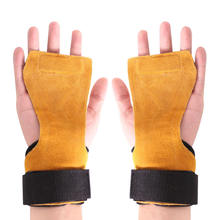 New Gym Fitness Hand Grip Wrist Wraps Support Crossfit Deadl