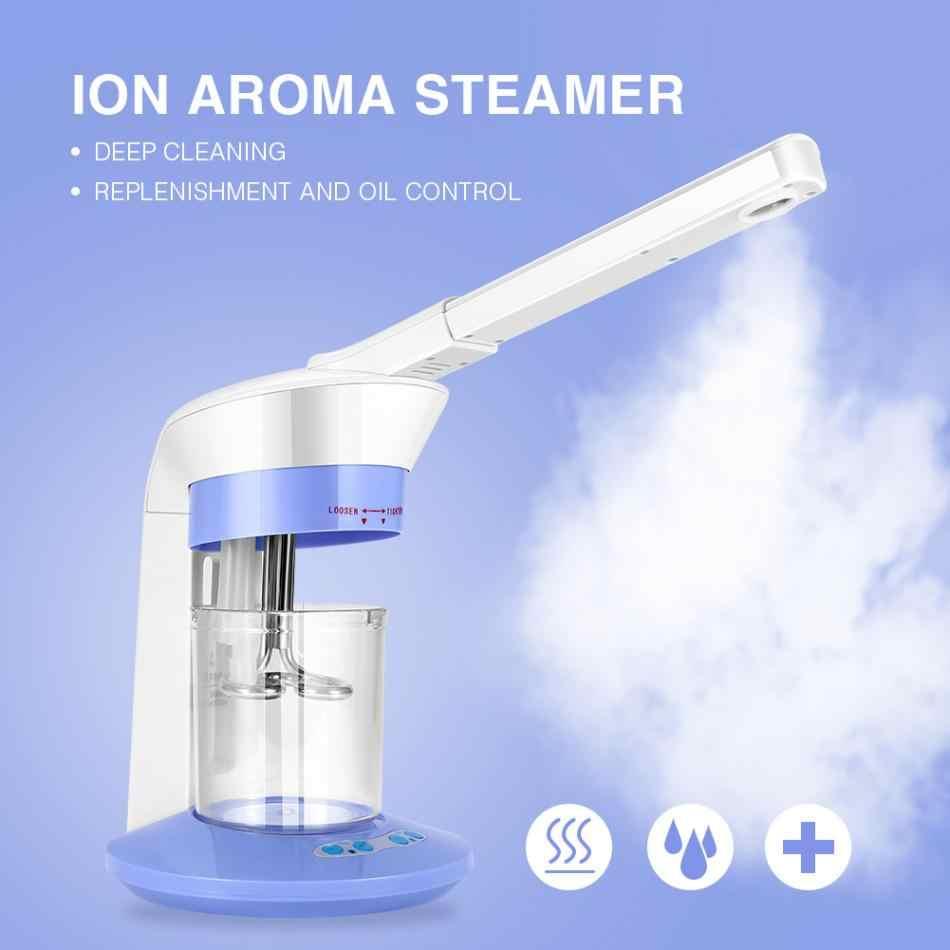 New Original 2 Tipos 2 Em 1 Salon Spa Íon Vapor de Ozônio Facial Steamer Sparyer Pele Máquina de Cuidados de Beleza