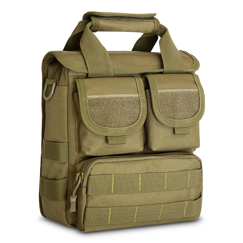 Impermeabile Del Black Borsa Libero Multifunzionale Cavaliere Computer Militare Tattico Backpack light Khaki Esterno Backpack Messaggero Zaino Spalla Portatile Di Nylon Sacchetto Della Dello 56gqgU