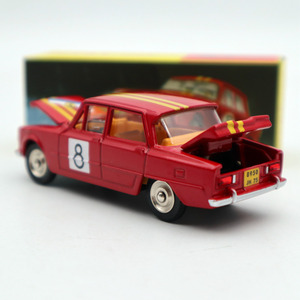 Image 3 - 1:43 Atlas Dinky Toys 1401 ALFA ROMEO 1600 TI Rally #8 Diecast Models Limited Edition Collection