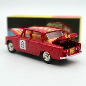 Image 3 - 1:43 Atlas Dinky oyuncaklar 1401 ALFA ROMEO 1600 TI ralli #8 Diecast modelleri sınırlı sayıda koleksiyonu