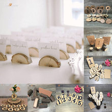 10pcs Rustic Table Numbers Wooden Name Place Cards Holders Rack Wedding Party Direction Signs Shabby Chic Number Home Decoration 10pcs rustic table numbers wooden name place cards holders rack wedding party direction signs shabby chic number home decoration