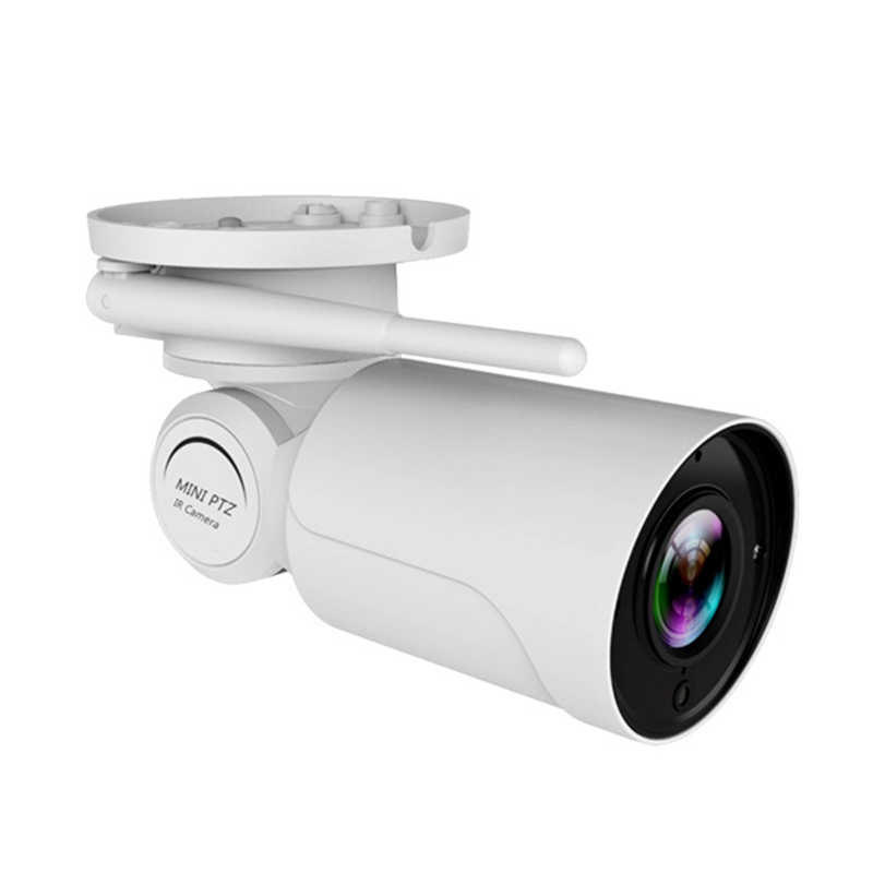 1080P HD Mini Bulle T Wifi PTZ IP Camera 2.0MP Waterproof 3.6mm 4X Digital Zoom Varifocal Pan Tilt Wireless Camera Outdoor
