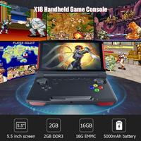 X18 5.5 inch Touch Screen Andriod Handheld Game Player 32GB Bluetooth 4.0 Game Player Mini Console Game Players Dropshipping