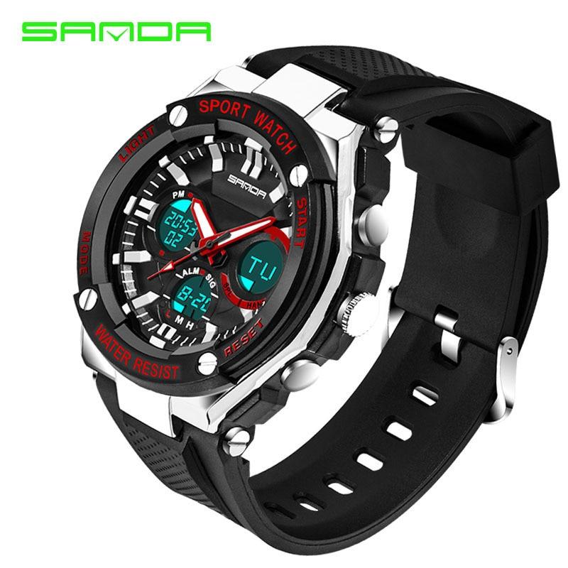 Men Sport Watch Waterproof Top Brand Luxury Military Watch LED Digital Quartz Wristwatch Relogio Masculino Reloj Hombre 2019 733 3