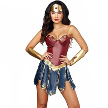 Wonder Woman Cosplay Costume Adult Justice League Super Hero