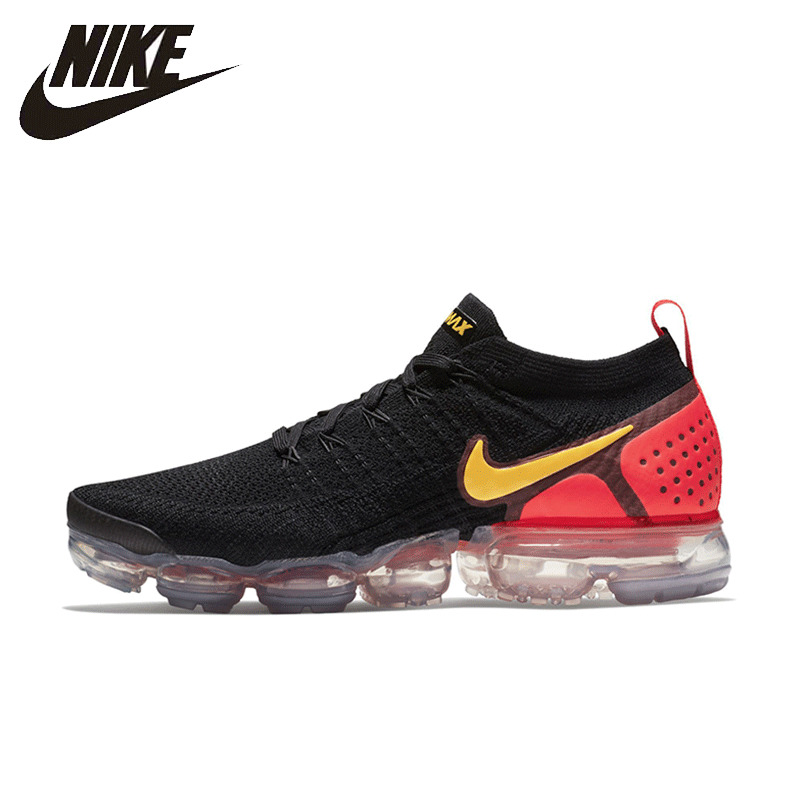 Nike Flyknit2 Vapormax Man Running Shoes Respirável Sneakers Almofada de Ar 942842