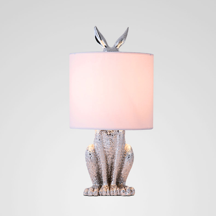 PostModern Masked Rabbit Resin LED Table Lamp Nordic Loft Industrial Desk Light Bedroom Bedside Study Restaurant Decor Desk LampPostModern Masked Rabbit Resin LED Table Lamp Nordic Loft Industrial Desk Light Bedroom Bedside Study Restaurant Decor Desk Lamp