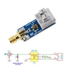 1:9 HF anten Balun bir dokuz: küçük düşük maliyetli 1:9 Balun frekans bandı; uzun tel HF anten RTL SDR 160m 6m yeni
