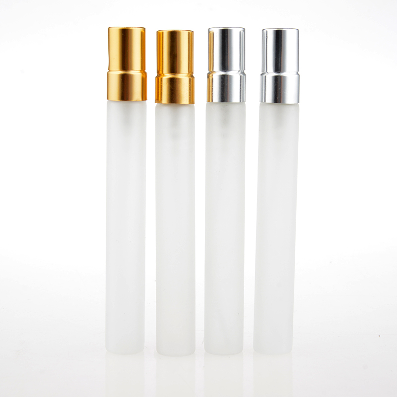 Liplasting 10ml Refillable Container Frosted Glass Bottle Mini Empty Essential Oil Bottle Sprayer Makeup Container Travel Bottle glass bottle