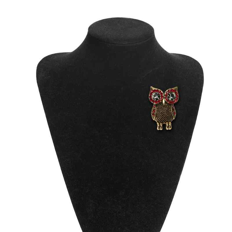 Vintage Burung Bros Pin Sempurna Enamel Bros Wanita Hadiah Ulang Tahun Brocade Emas Bros Bros Wanita Aksesoris