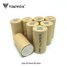 SC 1,2 в Ni-CD 1300 мАч аккумуляторные батареи для электрического инструмента батарея ячейка Игрушка Аккумулятор части DIY до 9,6 в 12 В 14,4 В