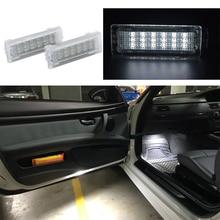 2x 18smd LED Porta Interna Luce Nel Vano Piedi luce di cortesia A Led CAR Styling Per BMW F01N/F02N/F03N F30 f31 F32 F34 F10LCI F11LCI