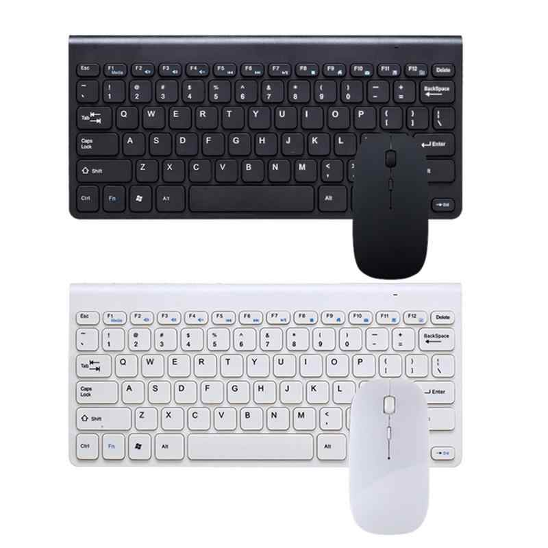 Ergonomic Wireless Keyboard Small Stylish Mouse Set Mini Keyboard For Games Office Entertainment Desktop Laptop Tablet Supplies