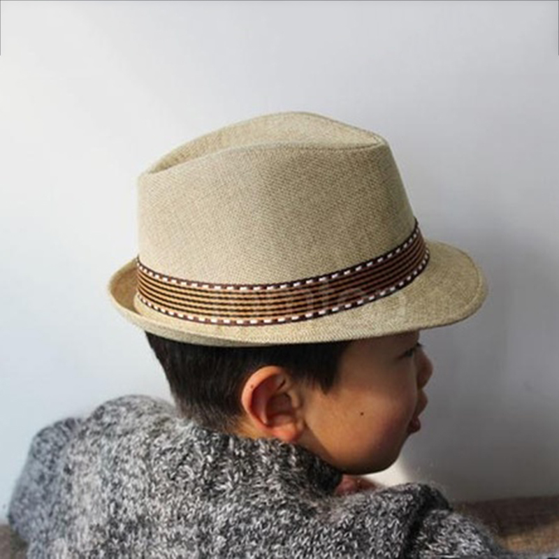 Children's Cowboy Hat Leisure Jazz Hat New Fashion Baby Sun Beach Hat Kids Summer Cool Straw Hats Cap Wholesale Drop Shipping