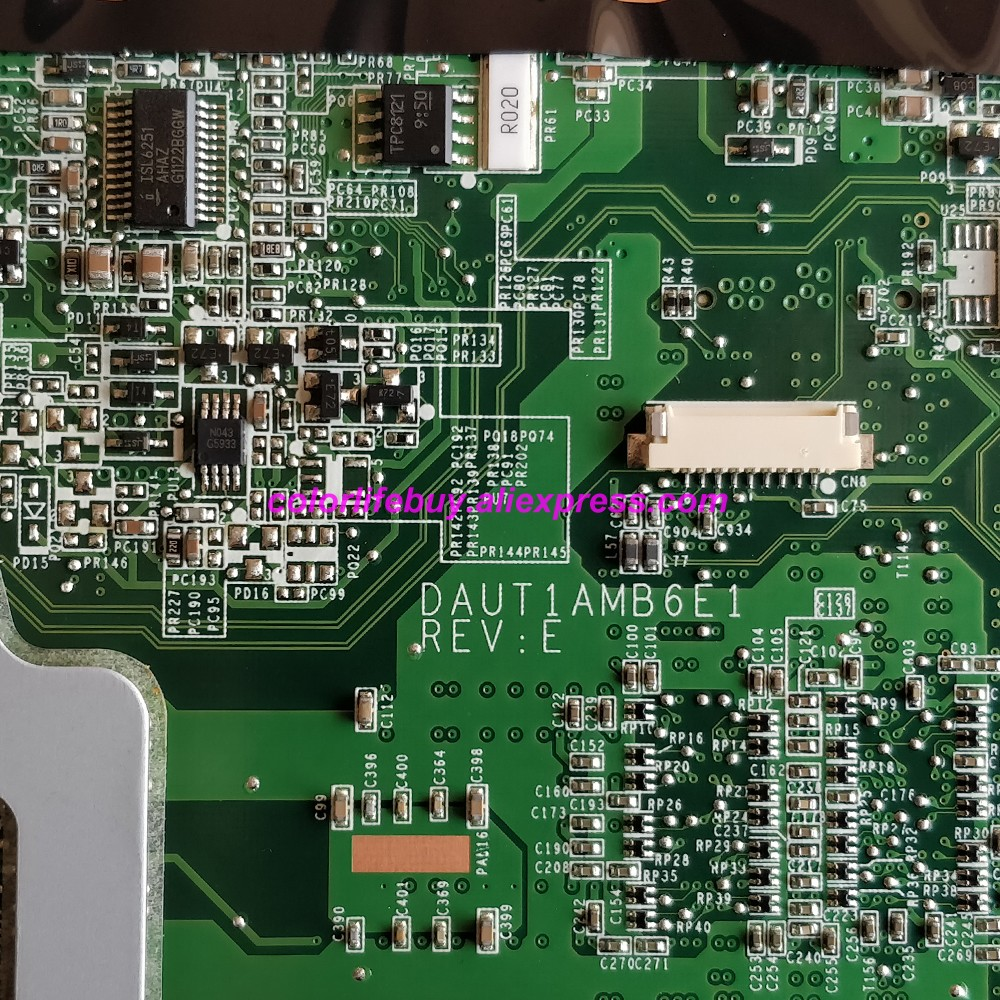 Image 5 - Натуральная 509451 001 аккумулятор большой емкости DAUT1AMB6E1 M92/512 MB Материнская плата ноутбука для hp павильон DV6 DV6 1000 DV6Z 1000 серии ноутбук ПК-in Материнская плата для ноутбука from Компьютер и офис
