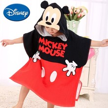 Disney Bath Towel Baby Children Pure Cotton Towel 60*120 cm Mickey Minnie Elsa Snow White  McQueen Cartoon Hat Bathing Towel