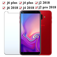 Protective glass on the for Samsung galaxy j4 j6 plus j2 pro 2018 tempered glas j 4 6 2 4j 6j screen protector samsong tremp пьер лорен эймар j c bach the well tempered clavier i 2 cd