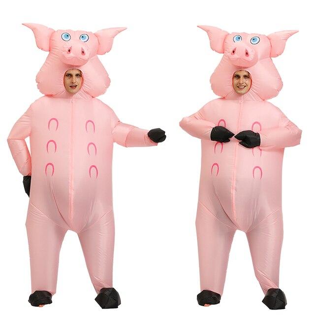 Adulto Divertente Animale Gonfiabile Squalo Costume Vestito Abito Halloween