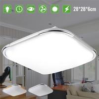 18W Modern LED Ceiling Light Acrylic Material 5730 Lamp Beads 1600LM Kitchen Bathroom Household Lamps AC110 220V White Light