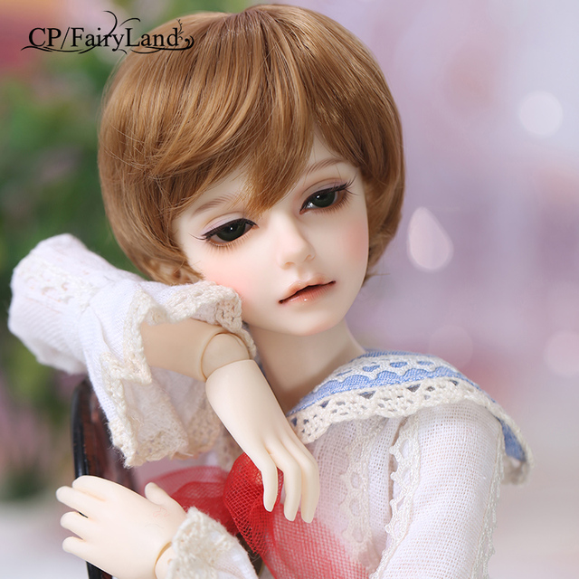 Free Shipping Fairyland Minifee Mika Doll BJD 1/4 model  girls boys eyes High Quality toys  shop resin