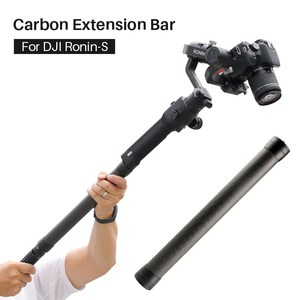 Image 2 - Aluminum alloy Extend Rod Pole Stick for Dji Ronin S Osmo Vimble 2 Crane Smooth 4 Feiyu G6 G5 AK4000 A2000 Telescopic Handheld
