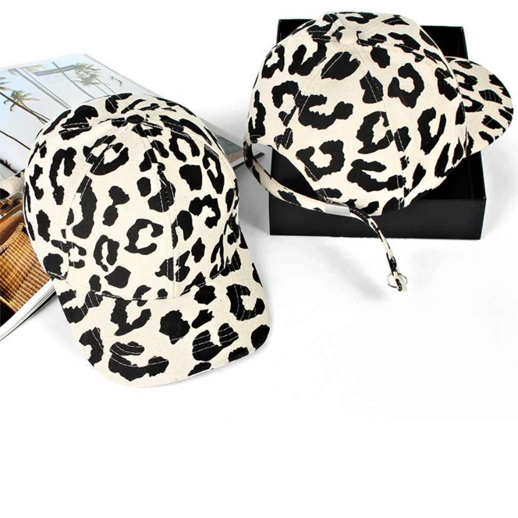 الرجال النساء ليوبارد طباعة روك البيسبول قبعات الرياضة الرقص قبعات حفلات Snapback قبعات للحماية من الشمس الهيب هوب قابل للتعديل قبعات الذهب رمادي