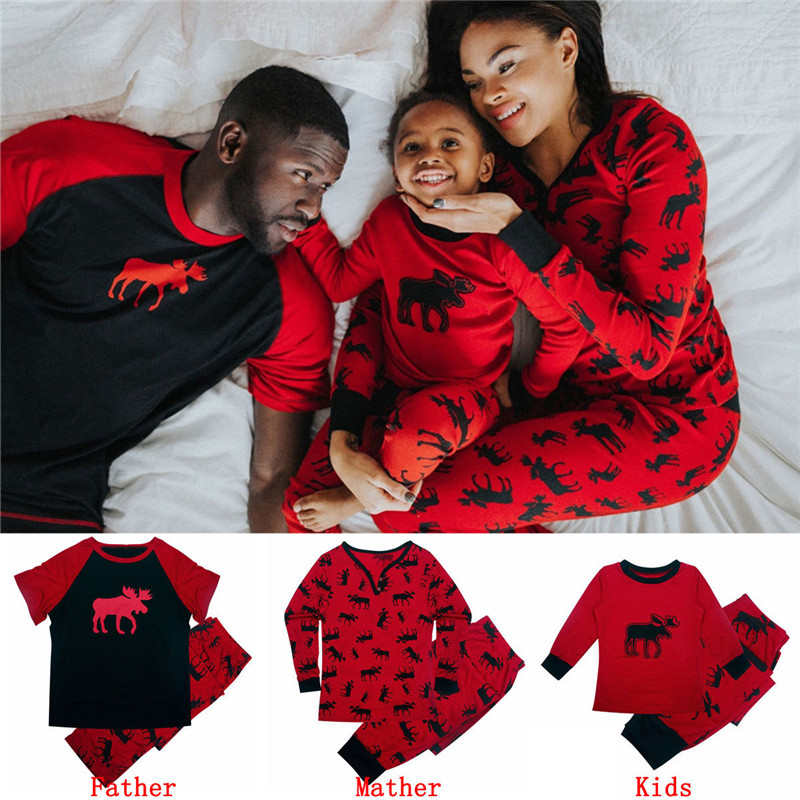 Christmas Sleepwear For Mom Dad And Baby 2018 Family