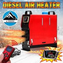 Съемная 5KW 12 V переносной обогреватель все в одном топлива воздуха  стояночный теплые + золотой ЖК-дисплей выключатель + Enhlis. b04867d5f462e