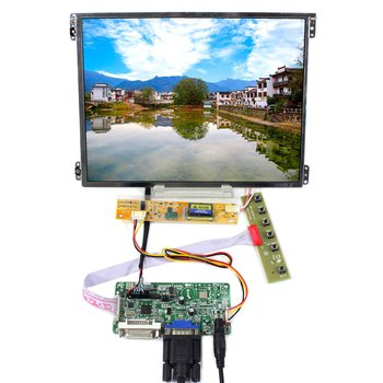 HDMI VGA AV USB RF LCD Controller Board T.V56.03 work with 10.4inch HT10X21-311 1024X768 IPS LCD Screen