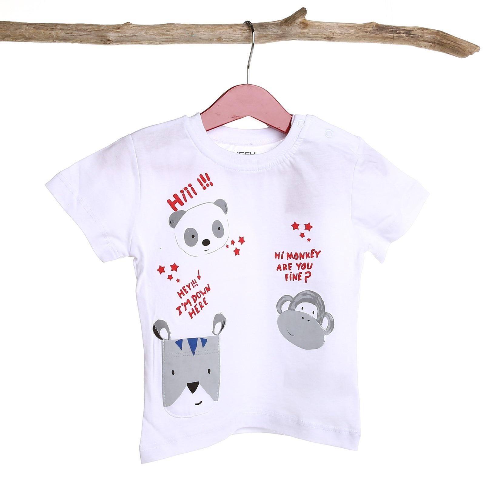 Tuffy Crew Neck Hi! Baby Tshirt